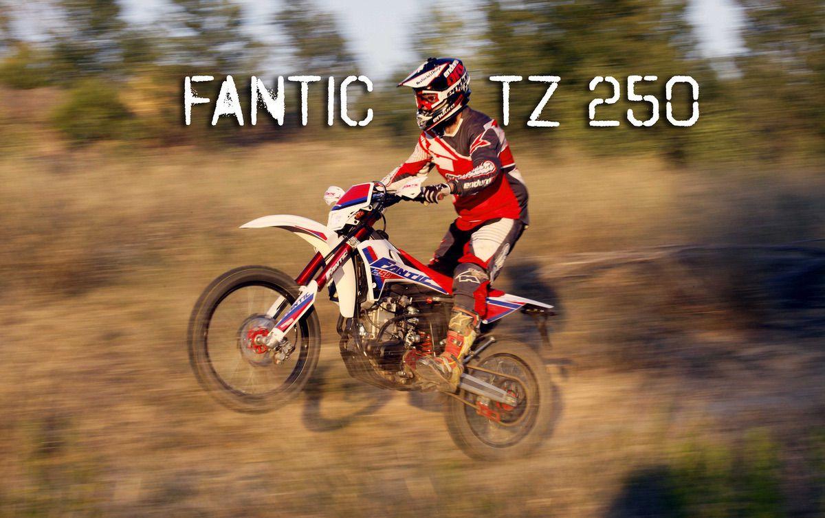 novedades en trial-excursión Fantic-tz-250