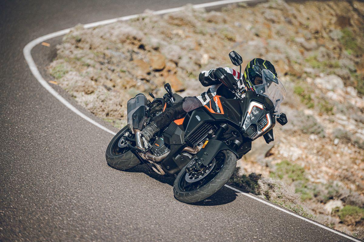 KTM 1290 Super Adventure S: ...y también, fácil.