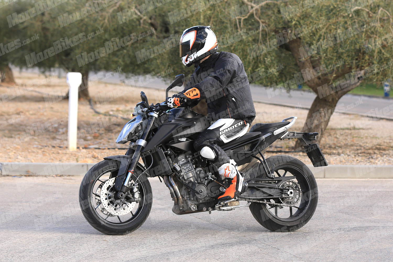Fotos espía KTM 790 Duke 2018
