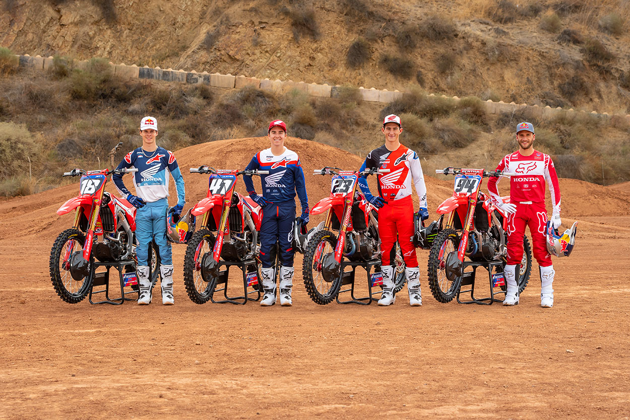 Team Honda HRC USA 2021