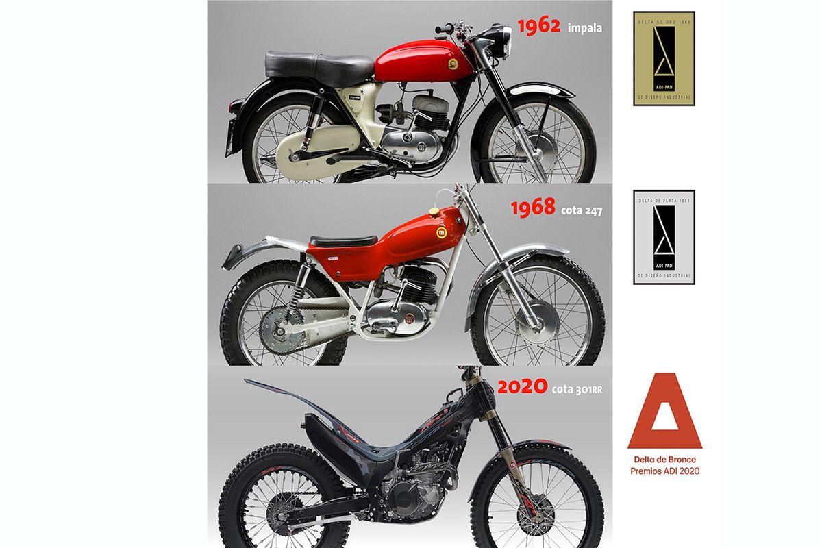 La Montesa Cota 301RR, premio Delta de Diseño Industrial