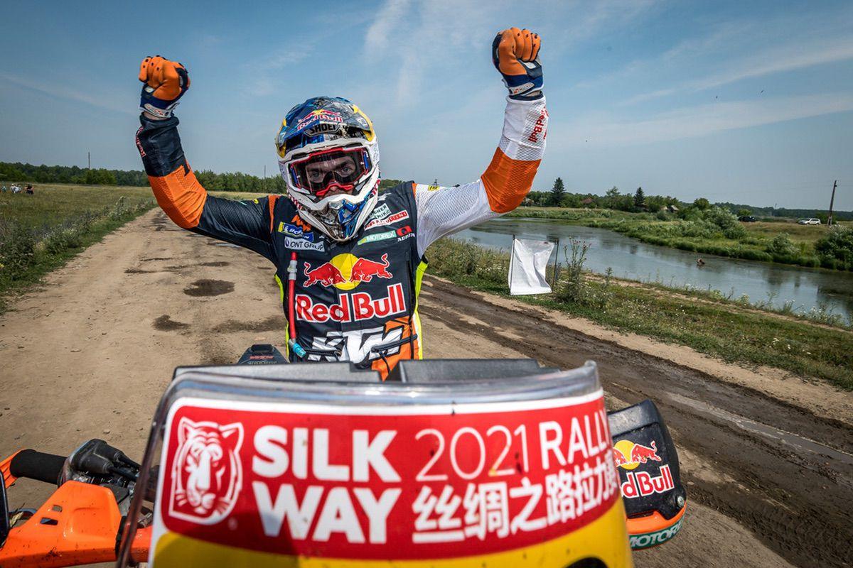 Matthias Walkner - Silk Way Rally 2021