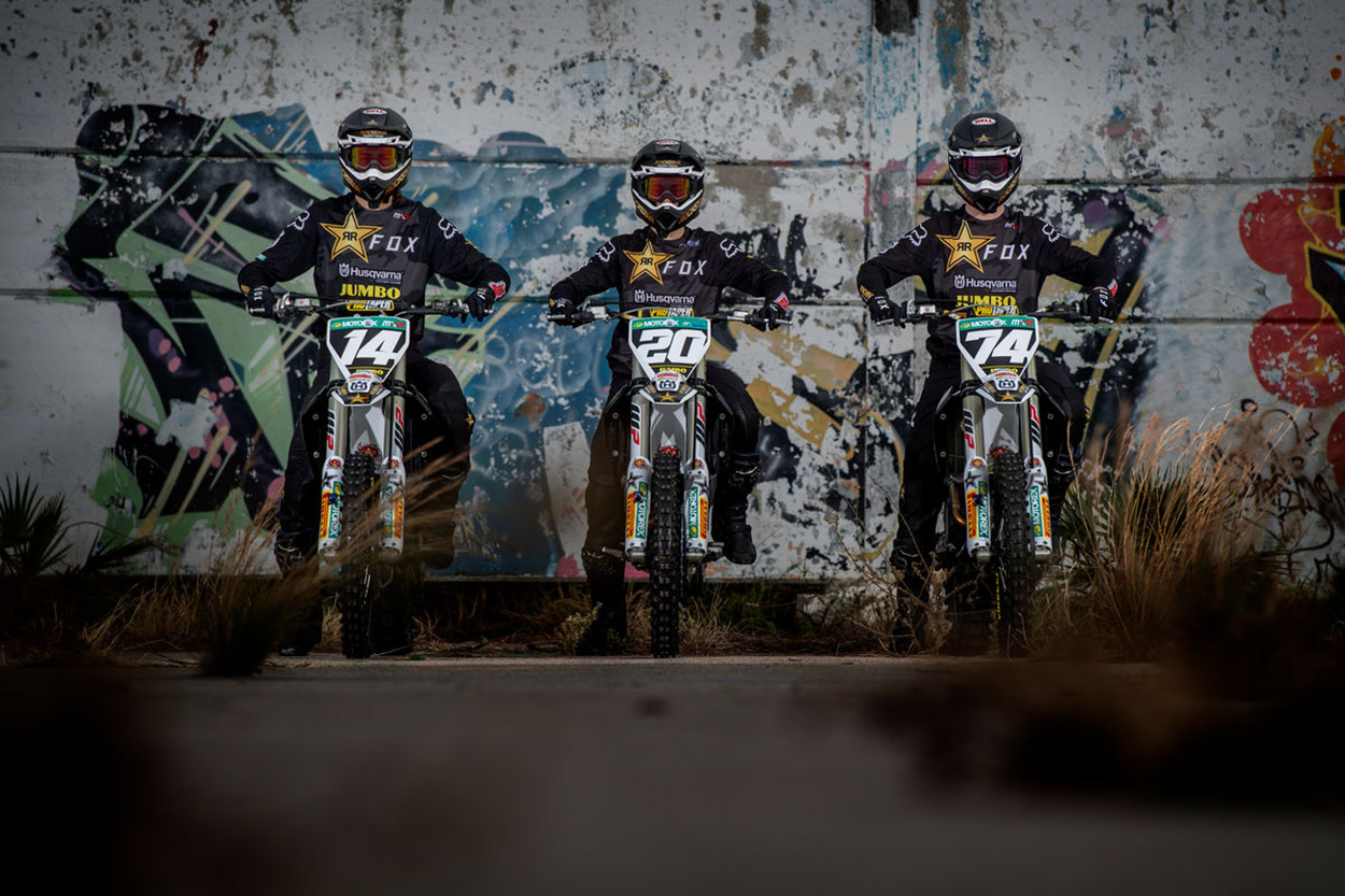 Rockstar Energy Husqvarna Factory Racing 2021