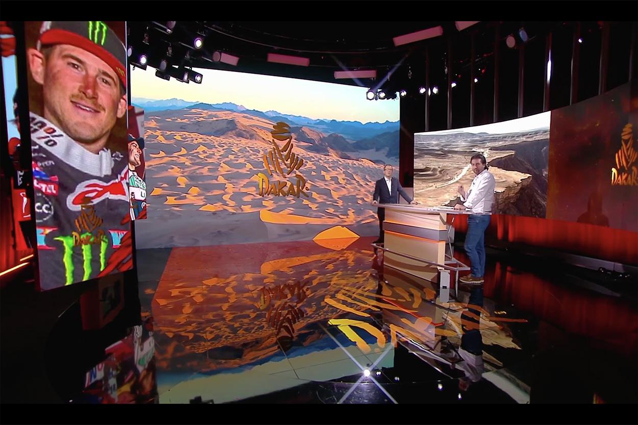 Presentación rally Dakar 2021