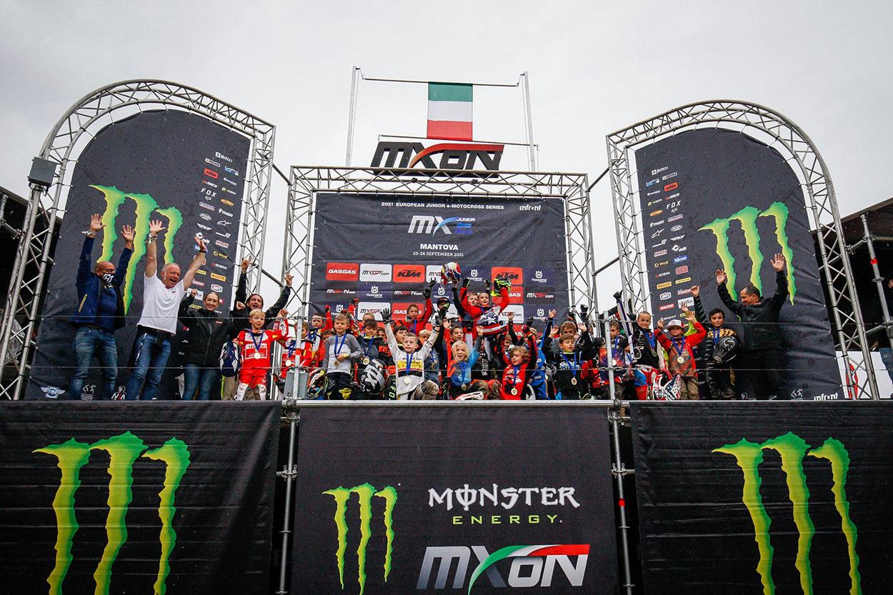 European Junior e-Motocross. Mantova 1ª prueba