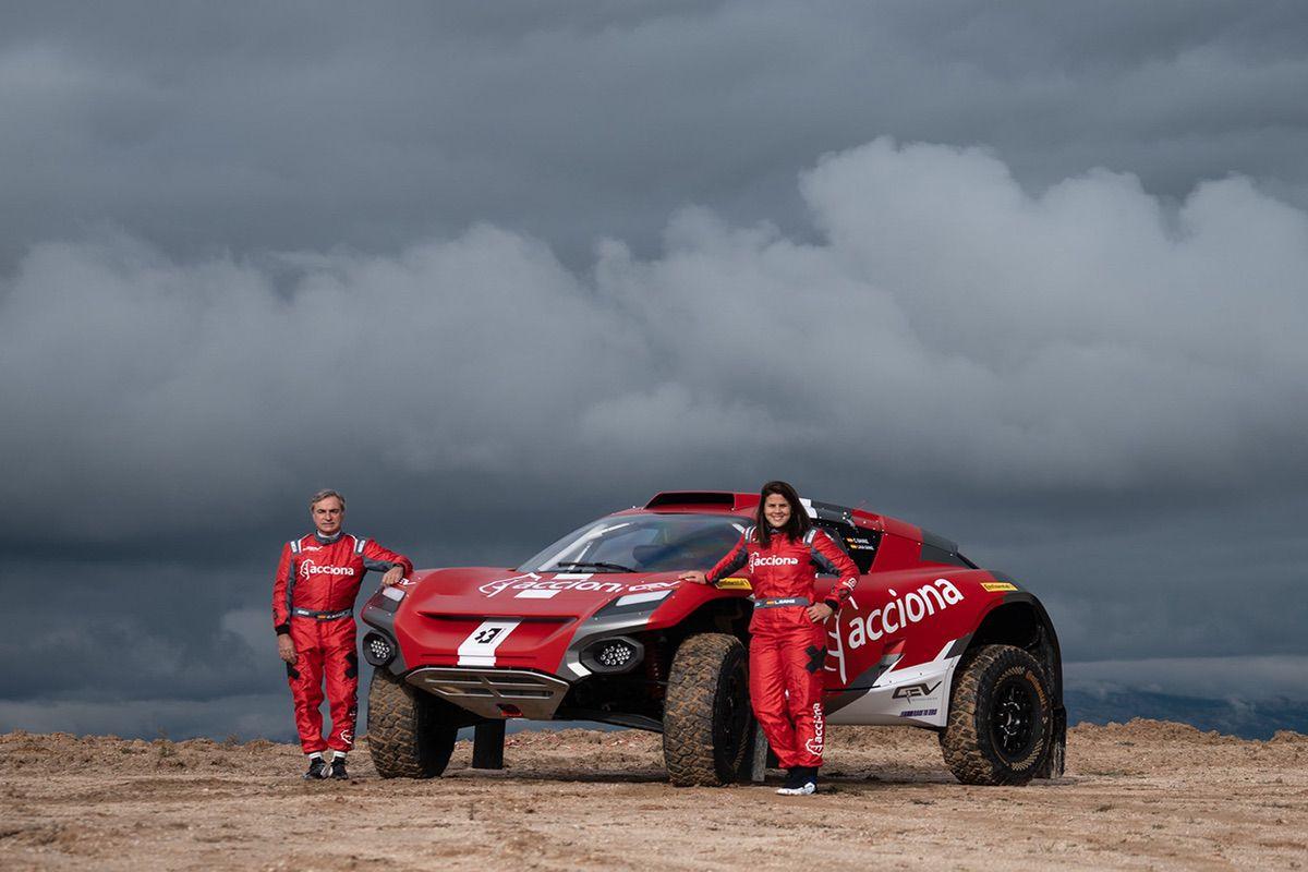 Carlos Sainz y Laia Sanz - Acciona Sainz XE-Team