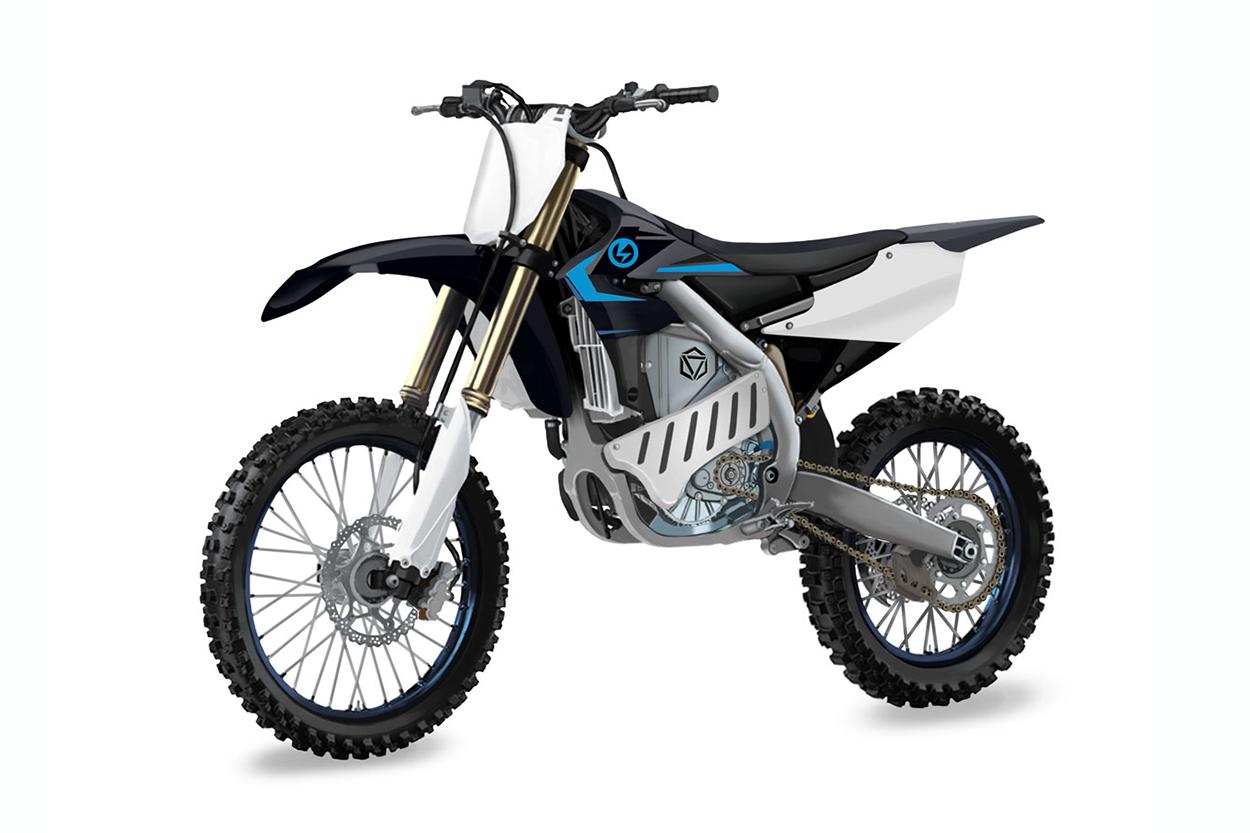 Prototipo Yamaha YZ250F eléctrica
