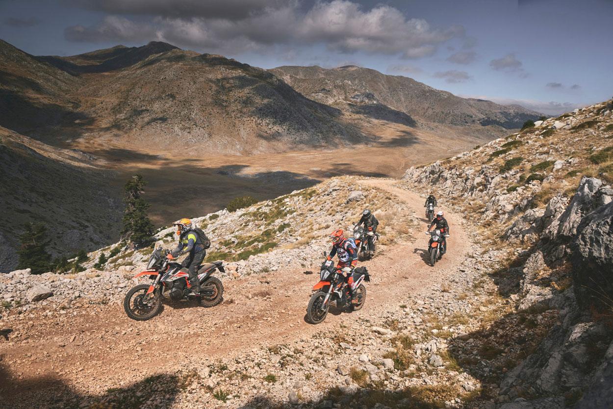 EUROPEAN KTM ADVENTURE RALLY - GREECE 2021 | KTM