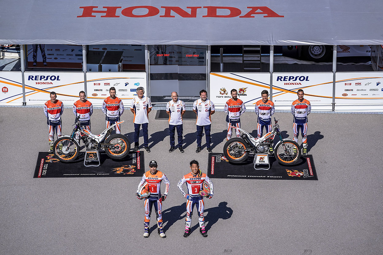 Repsol Honda Team de Trial 2021