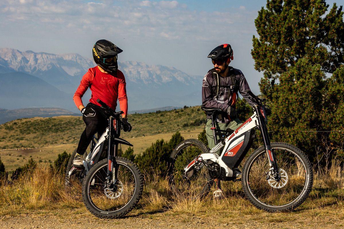 Braih, la Super e-Bike inspirada en las motos de campo
