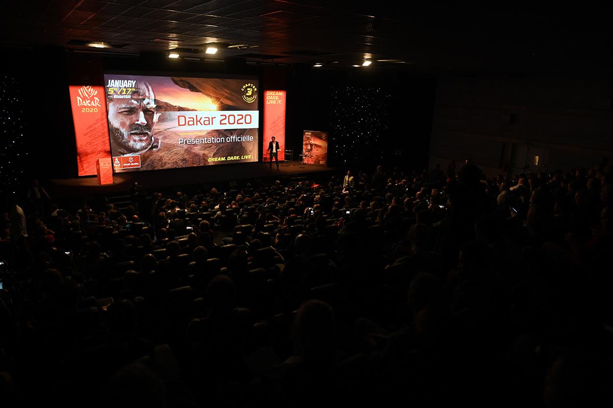 Presentación Rally Dakar 2020