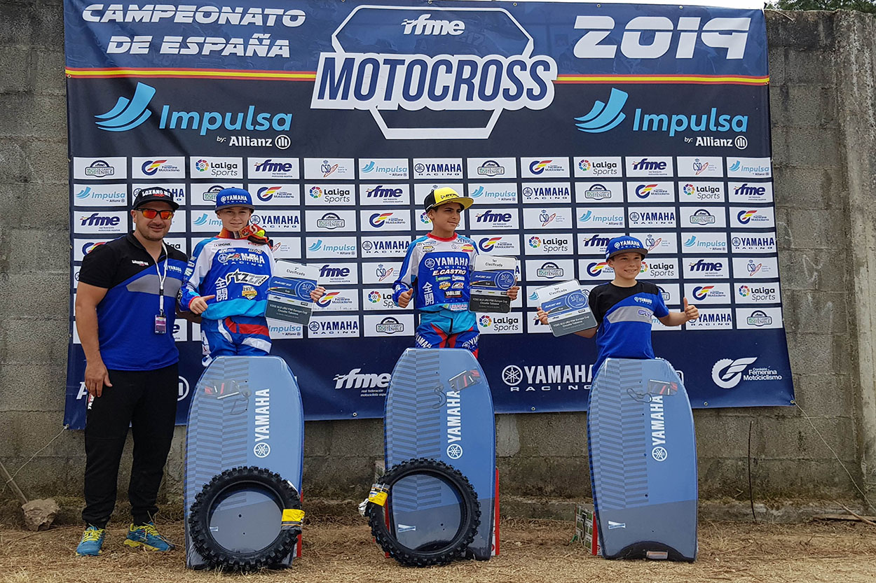 Podio YZ65 bLU cRU Cup As Neves 2019