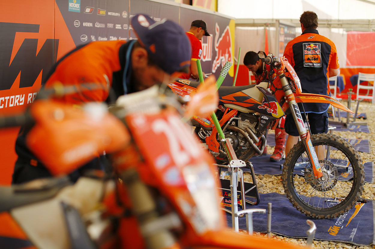 Equipo KTM ISDE 2017