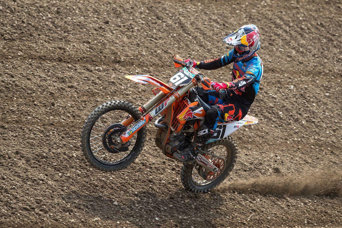 Jorge Prado en el MXGP Locket 2018