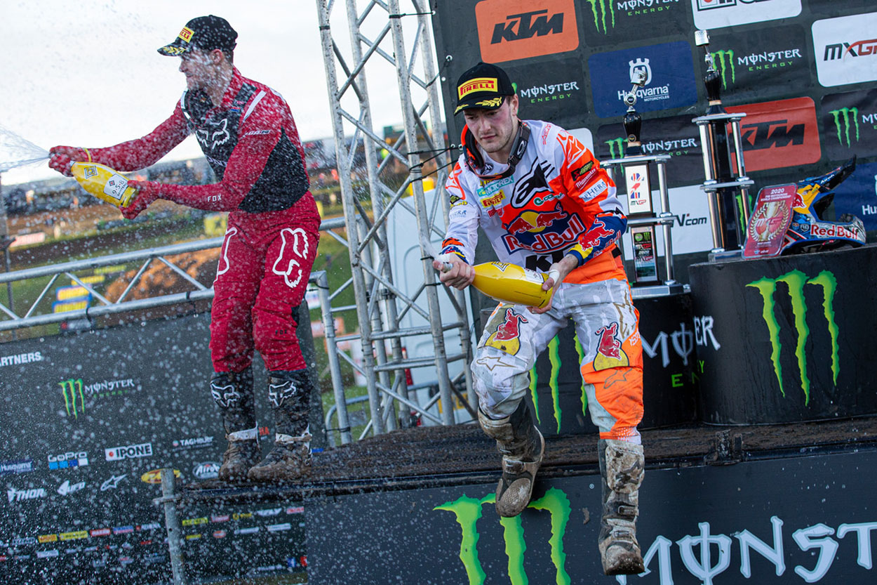 Jeffrey Herlings y Tim Gajser