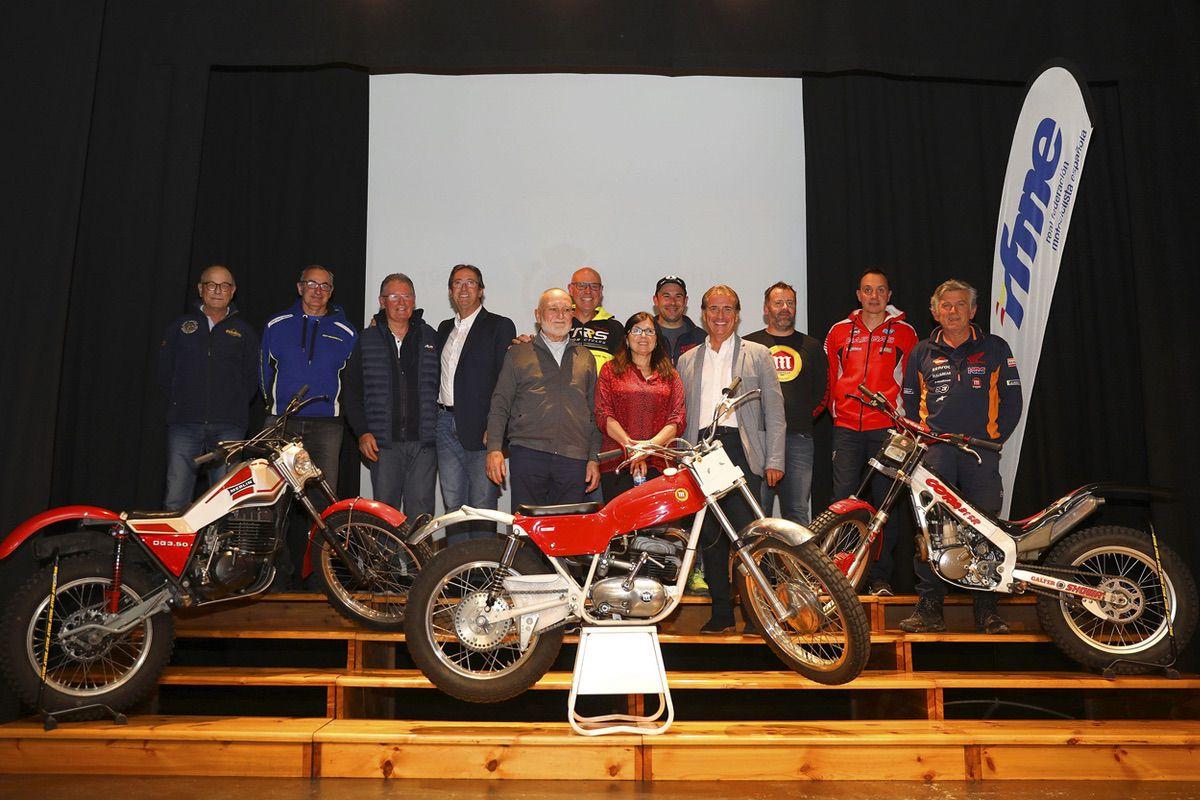 Casi todos los Campeones de España de Trial se reunieron en Becerril de la Sierra