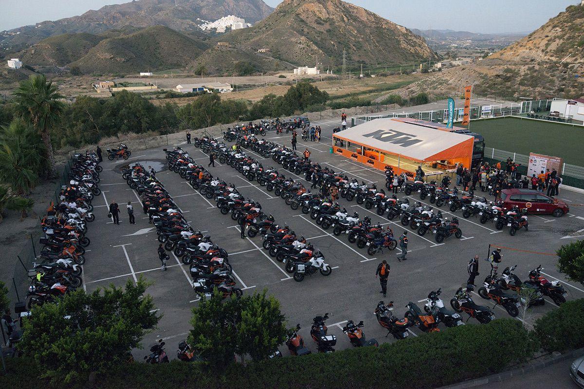 V Reunión KTM Adventure Almería 2018