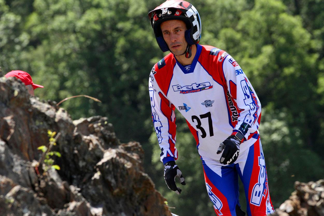 Albert Cabestany se despide de su etapa como piloto profesional de trial
