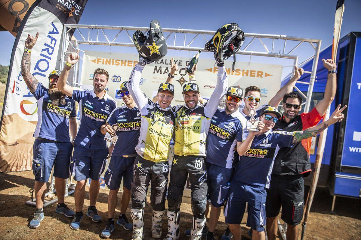 Equipo Rockstar Energy Husqvarna Factory Racing