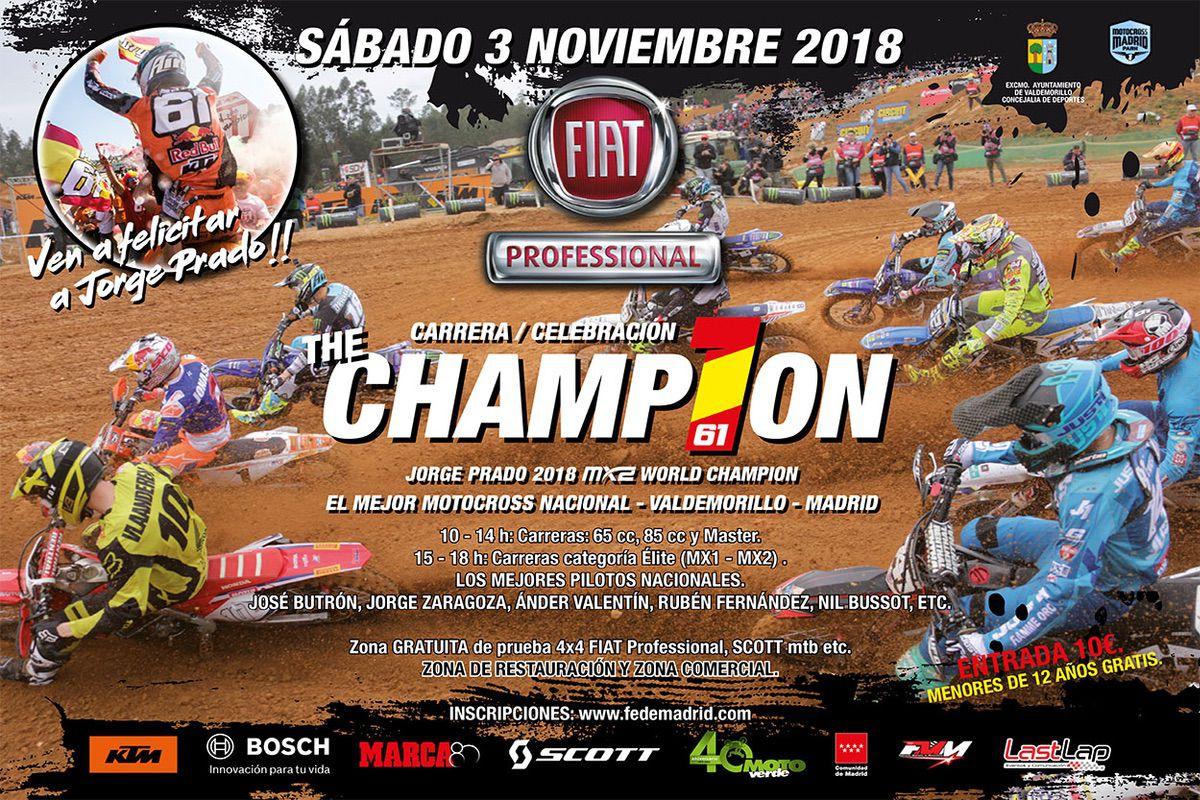 Motocross Madrid Park de Valdemorillo