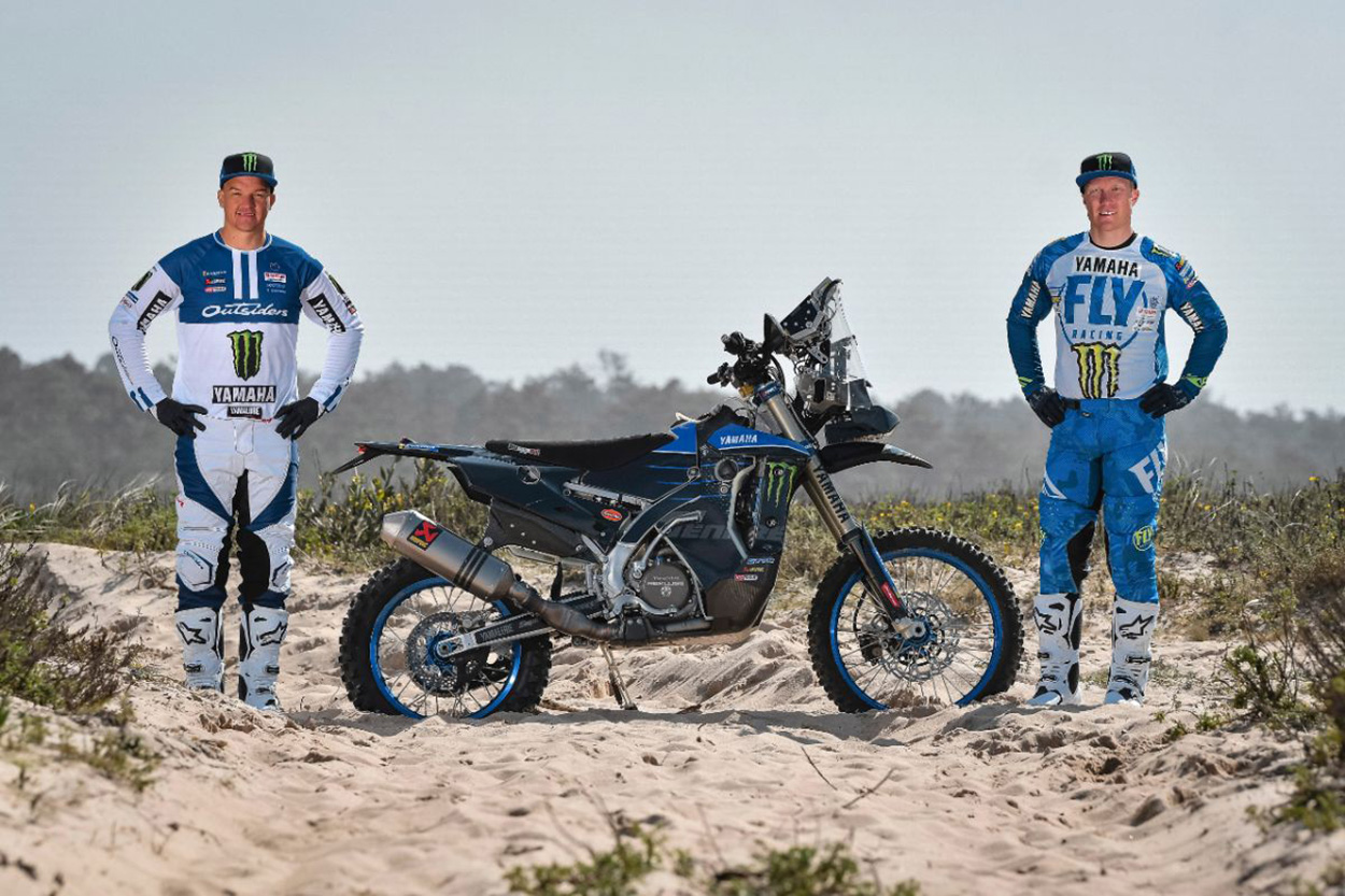 Monster Energy Yamaha Rally 2020