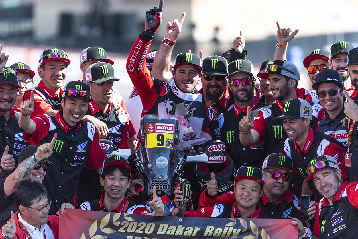Monster Energy Honda Team 2020