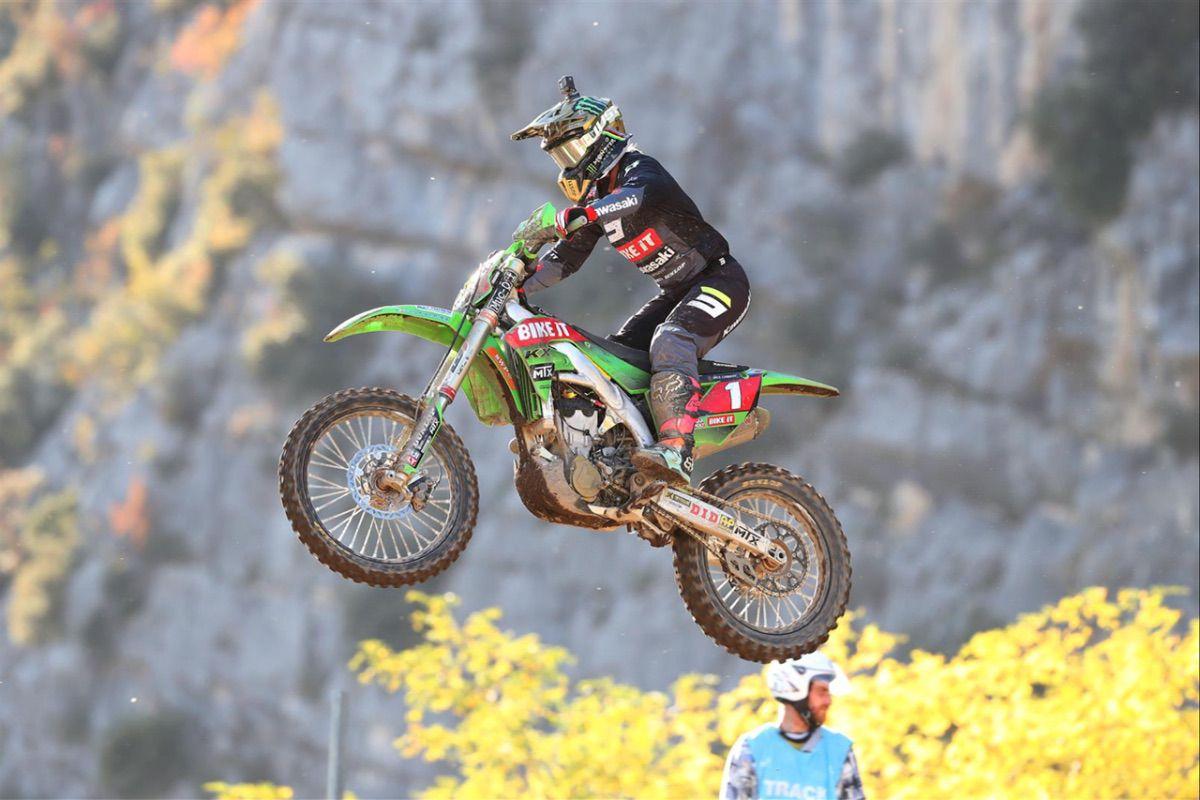 Dunlop gana el quinto título consecutivo del WMX