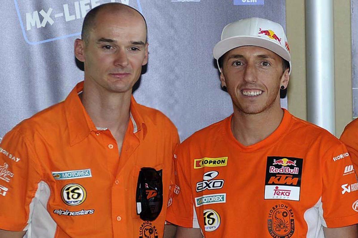 Stefan Everts y Antonio Cairoli