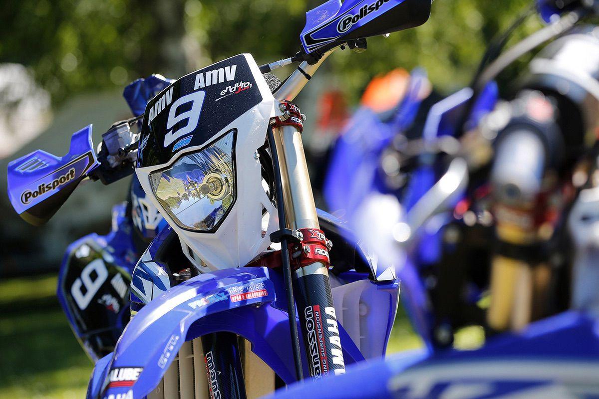 La Yamaha de Kyle Flanagan