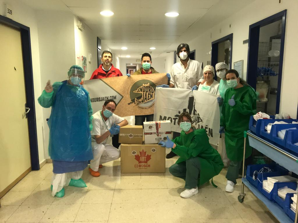 Endureros contra el coronavirus