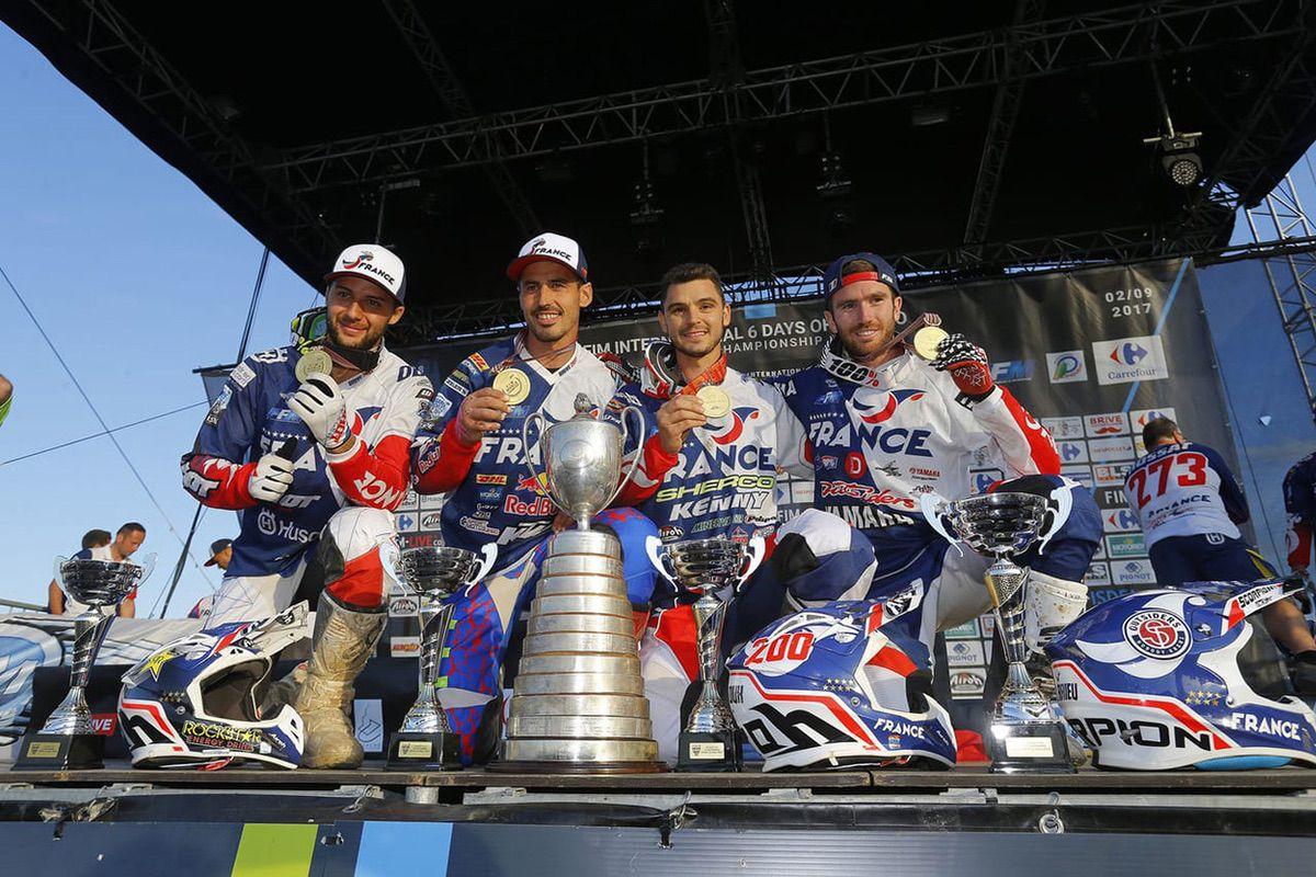 Equipo Trofeo Francia 2017