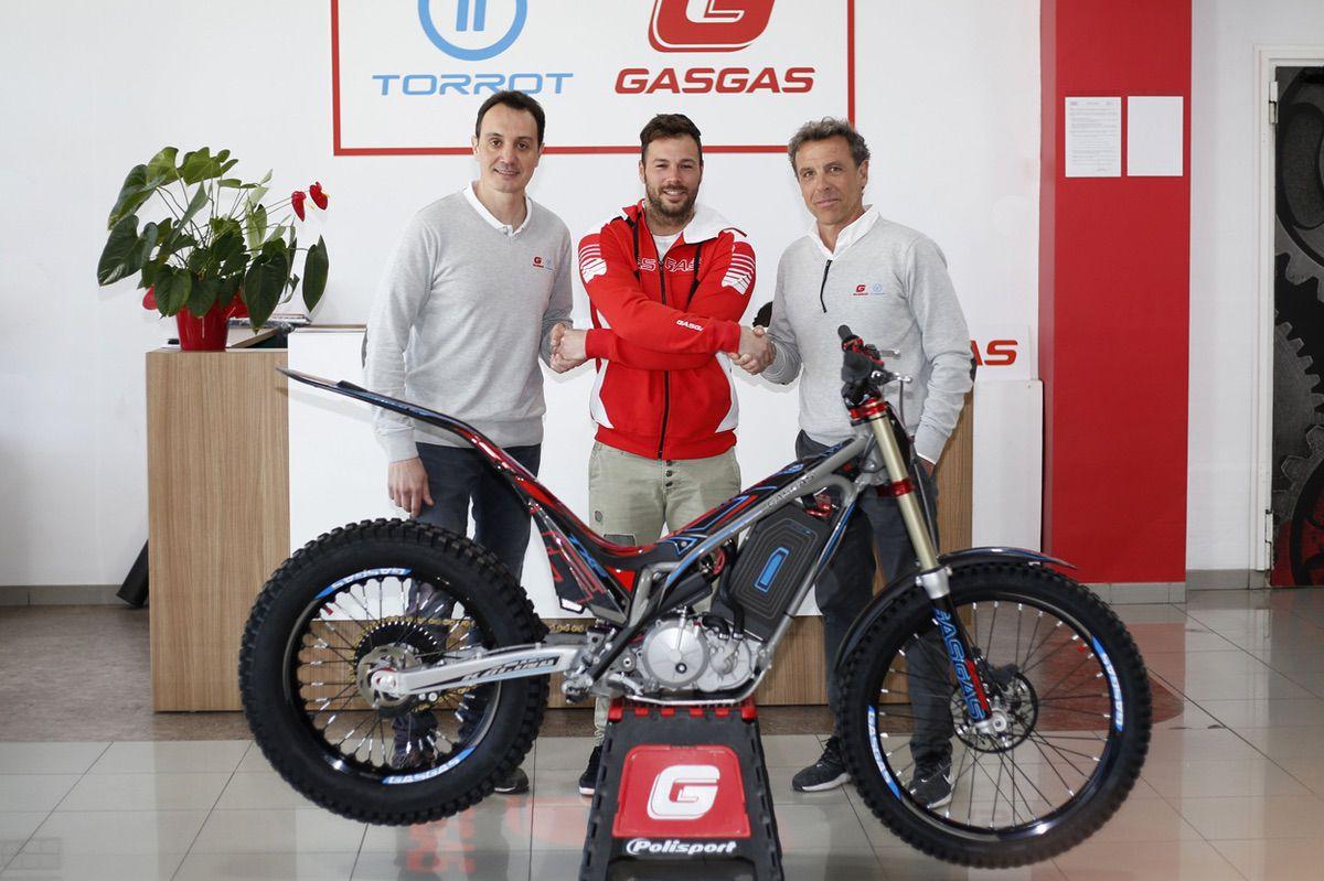 Loris Gubian ficha por Gas Gas para el desarrollo de la moto de trial electrica