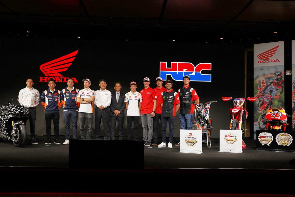 Presentación oficial equipos HRC en el EICMA