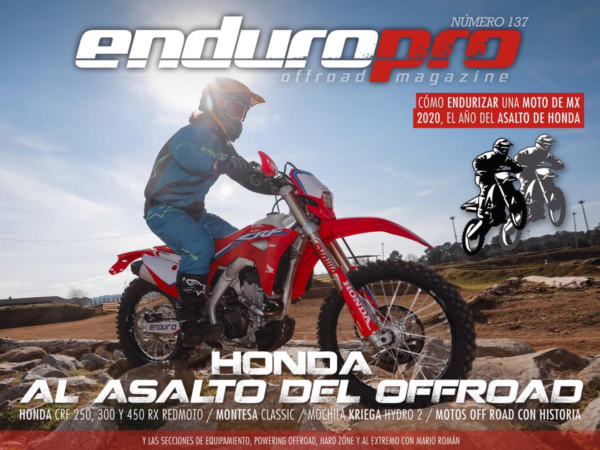 Ya disponible el último número de EnduroPro: Honda, al asalto del OffRoad