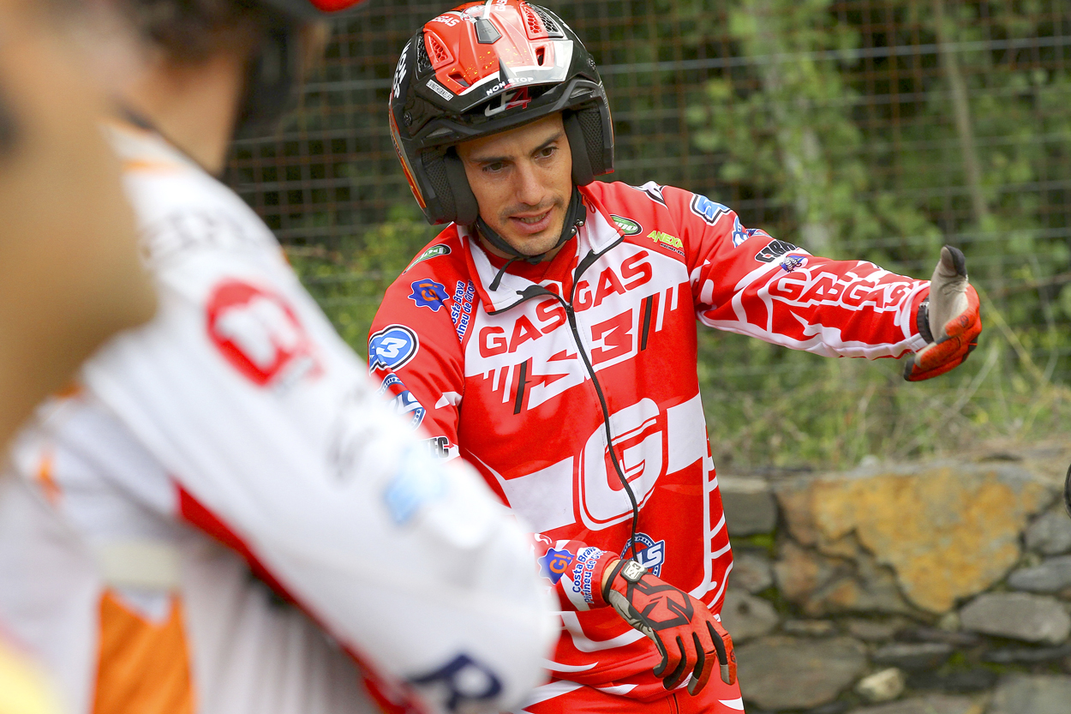 Jeroni Fajardo, subcampeón del mundo de trial con Gas Gas