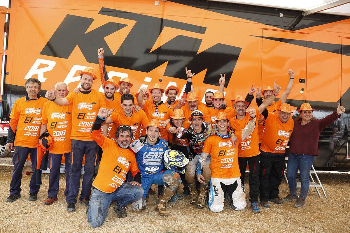 Equipo KTM España Enduro 2018