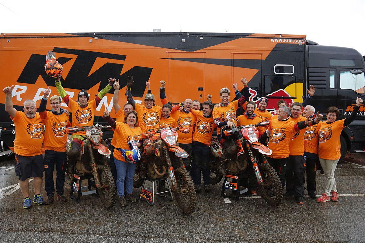 Equipo KTM España Enduro 2019