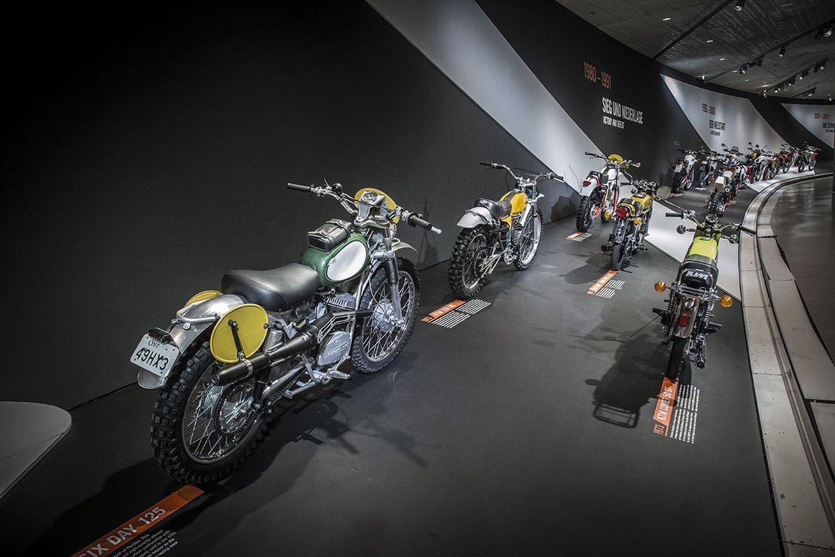 Museo KTM Motohall