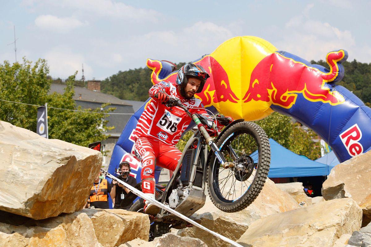Loris Gubian, campeón del mundo de trial con motos electricas