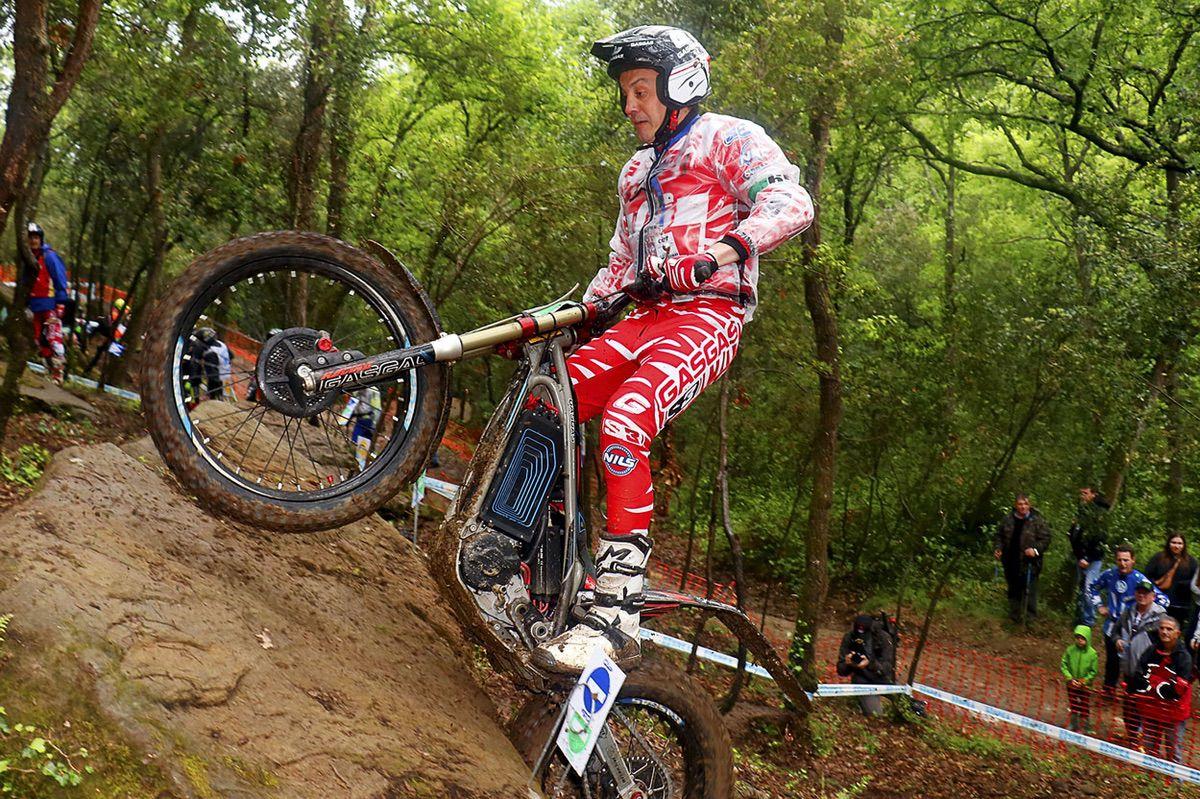 Marc Colomer debutó con la Gas Gas TXE en el Campeonato de España de Trial