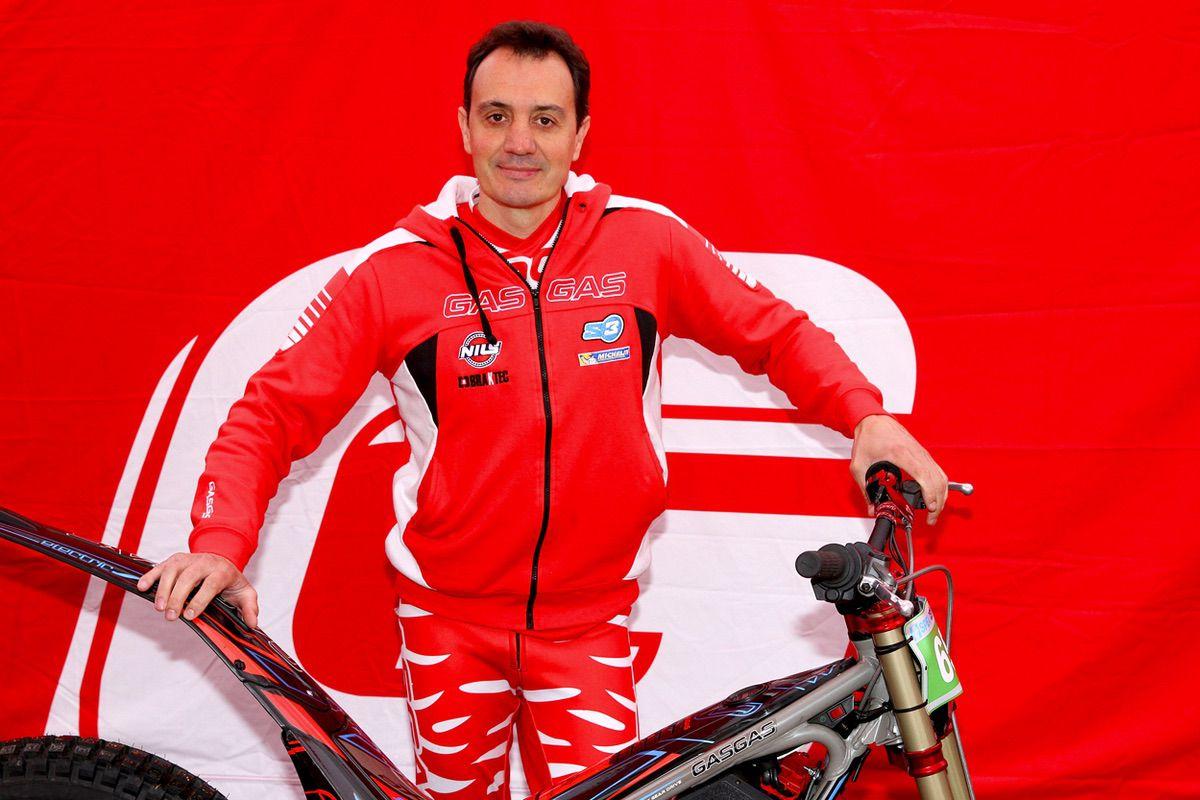 Marc Colomer, director deportivo del Equipo Gas Gas de Trial