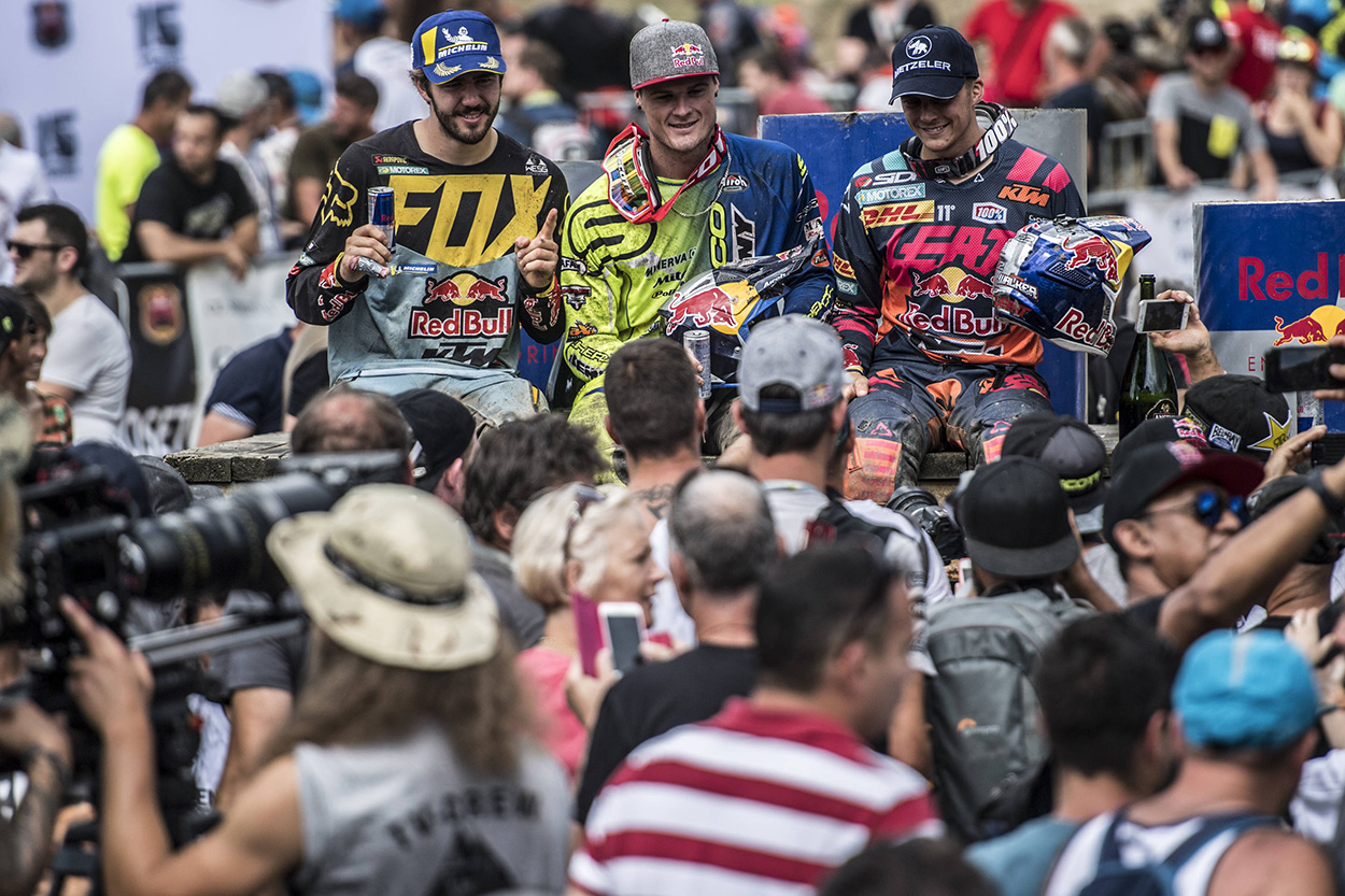 Podio final Red Bull Romaniacs 2018