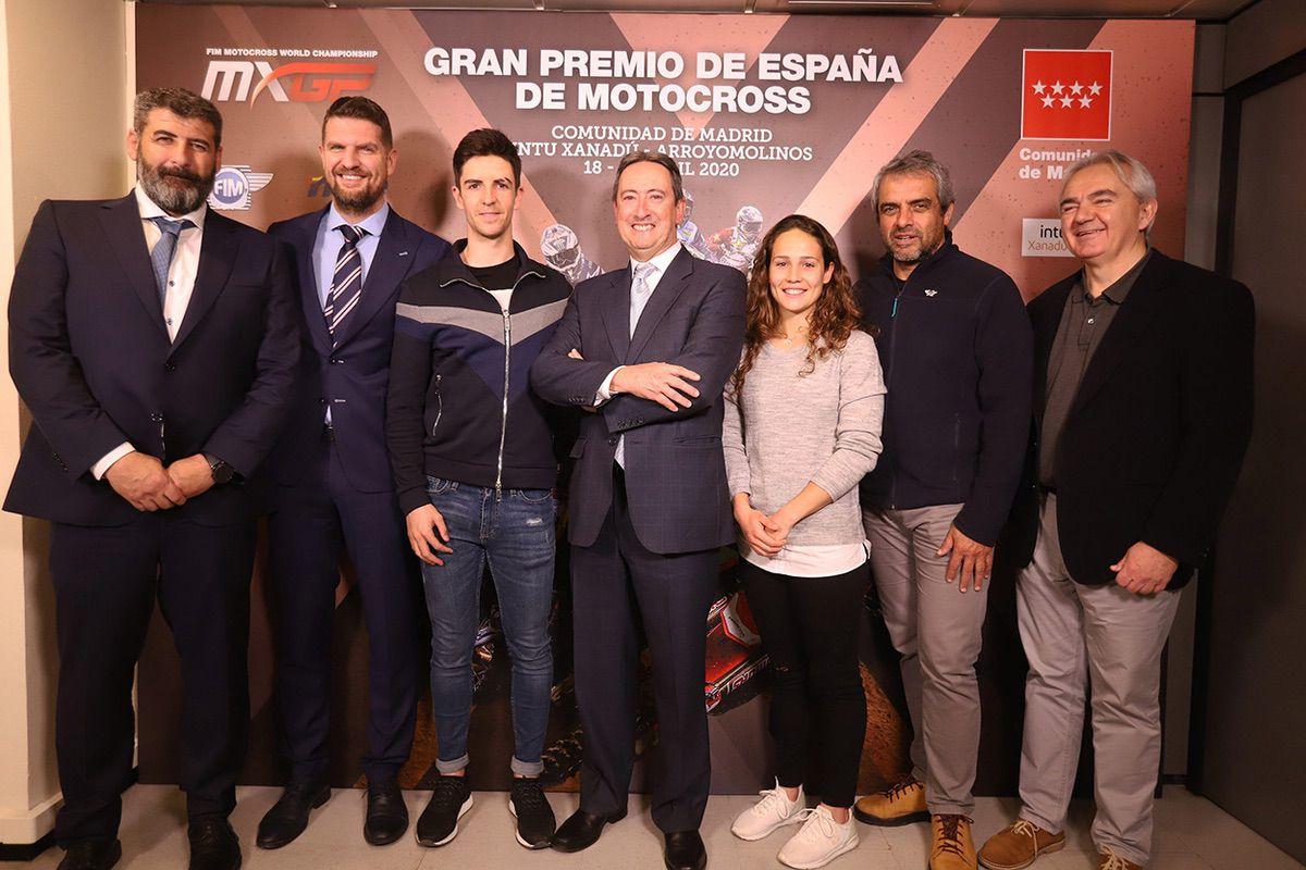 Presentación Gran Premio MXGP de Madrid 2020