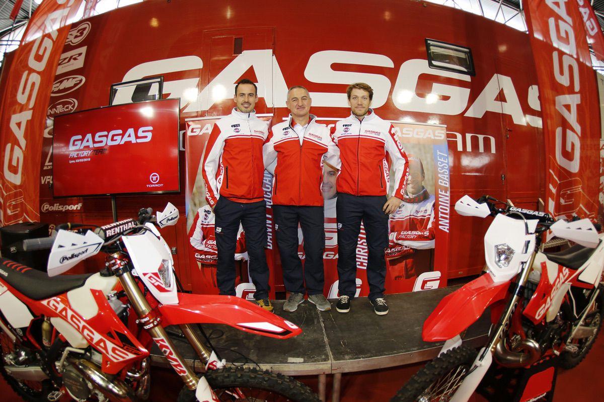 Presentación del Gas Gas Factory Enduro Team
