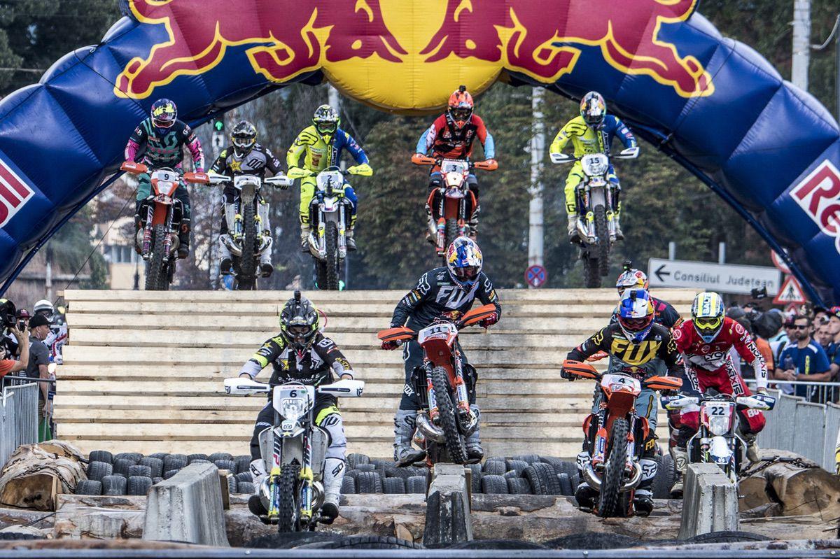 Los Red Bull Romaniacs por Jorge Nieto