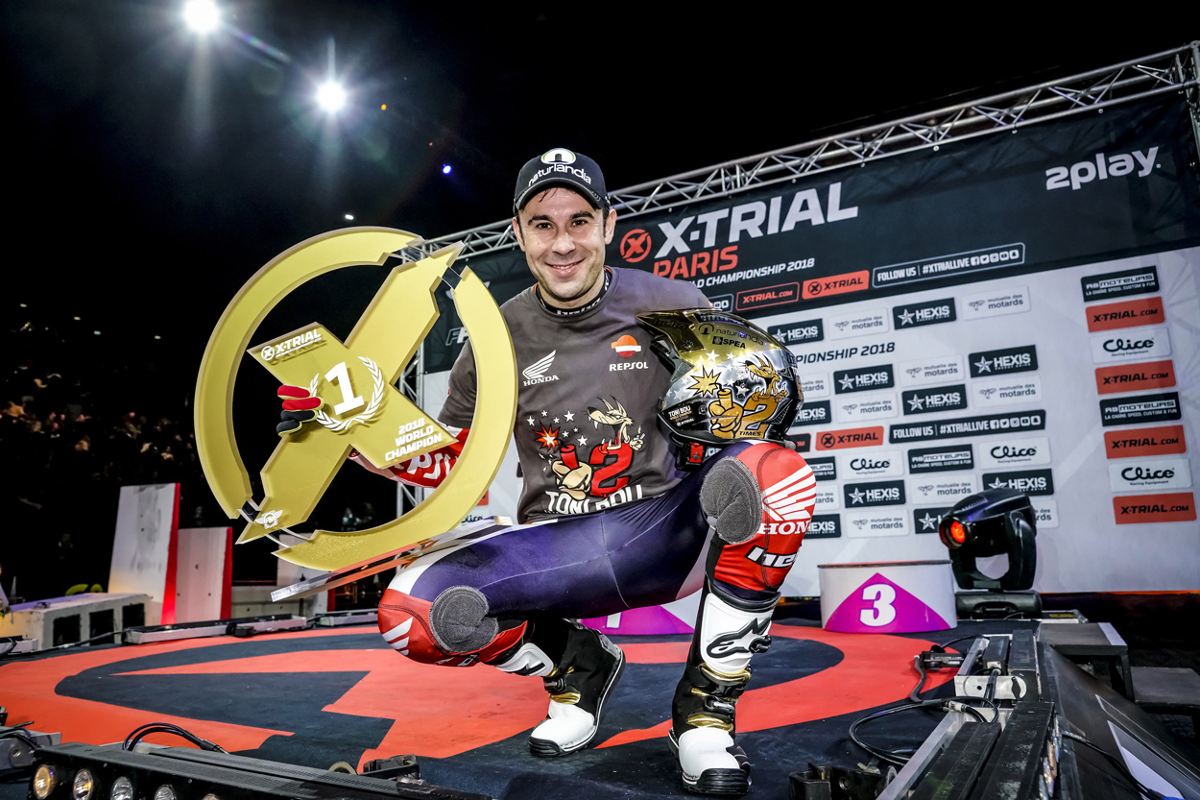 Toni Bou logra su título número 12 en el Mundial de X Trial