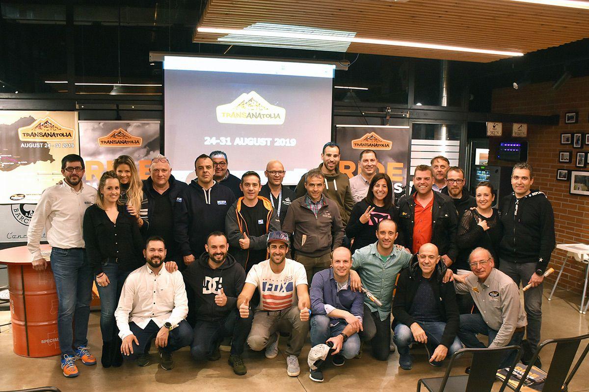 Presentación Transanatolia Rally en Barcelona