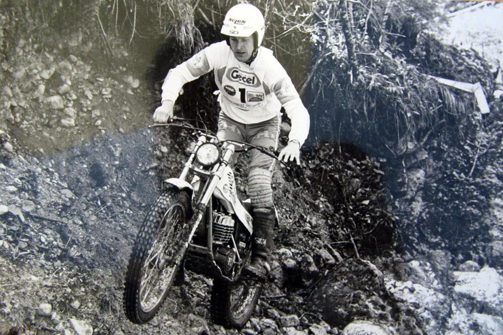 Ulf Karlson, Campeón del Mundo de Trial con Montesa en 1980