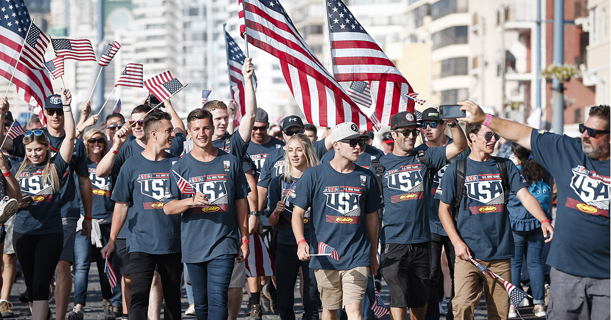 Equipo estadounidense ISDE 2018