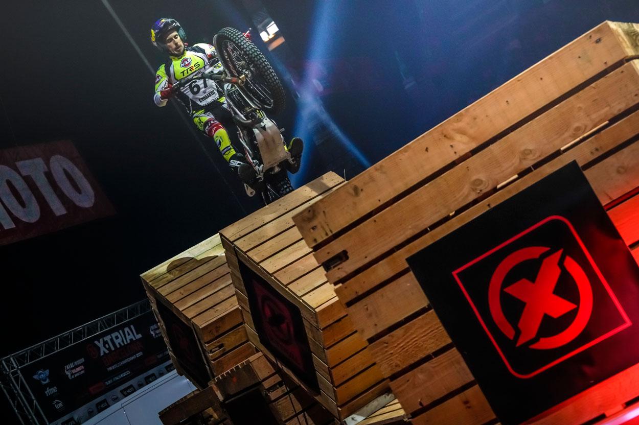 Victoria de Adam Raga en el X Trial Indoor de Barcelona